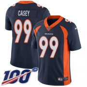 Wholesale Cheap Nike Broncos #99 Jurrell Casey Navy Blue Alternate Men's Stitched NFL 100th Season Vapor Untouchable Limited Jersey