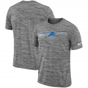 Wholesale Cheap Detroit Lions Nike Sideline Velocity Performance T-Shirt Heathered Gray