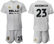 Wholesale Cheap Valencia #23 Abdennour Home Soccer Club Jersey