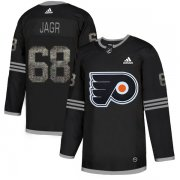Wholesale Cheap Adidas Flyers #68 Jaromir Jagr Black Authentic Classic Stitched NHL Jersey