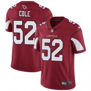 Wholesale Cheap Nike Cardinals #52 Mason Cole Red Team Color Men's Stitched NFL Vapor Untouchable Limited Jersey