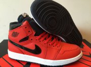 Wholesale Cheap Air Jordan 1 Retro Shoes Red/Black-white