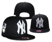 Wholesale Cheap MLB New York Yankees Snapback Ajustable Cap Hat 3
