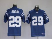 Wholesale Cheap Colts #29 Joseph Addai Blue Stitched NFL Jersey