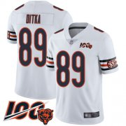 Wholesale Cheap Nike Bears #89 Mike Ditka White Men's Stitched NFL 100th Season Vapor Limited Jersey