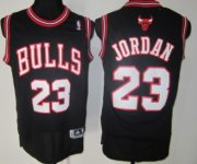 Wholesale Cheap Chicago Bulls #23 Michael Jordan Revolution 30 Swingman Black Jersey