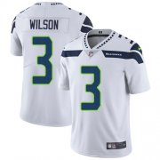 Wholesale Cheap Nike Seahawks #3 Russell Wilson White Youth Stitched NFL Vapor Untouchable Limited Jersey