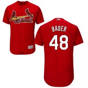 Wholesale Cheap Cardinals #48 Harrison Bader Red Flexbase Authentic Collection Stitched MLB Jersey