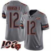 Wholesale Cheap Nike Bears #12 Allen Robinson II Silver Men's Stitched NFL Limited Inverted Legend 100th Season Jersey