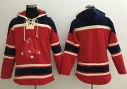 Wholesale Cheap Red Sox Blank Red Sawyer Hooded Sweatshirt MLB Hoodie