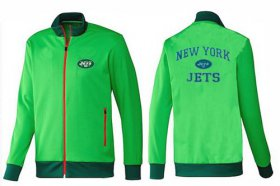 Wholesale Cheap NFL New York Jets Heart Jacket Green