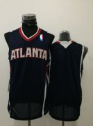 Wholesale Cheap Men's Atlanta Hawks Blank Navy Blue Swingman Jersey