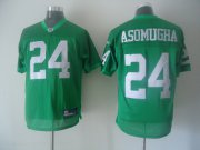 Wholesale Cheap Eagles #24 Nnamdi Asomugha Light Green 1960 Throwback Stitched NFL Jersey