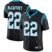 Wholesale Cheap Nike Panthers #22 Christian McCaffrey Black Team Color Youth Stitched NFL Vapor Untouchable Limited Jersey