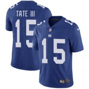 Wholesale Cheap Nike Giants #15 Golden Tate Royal Blue Team Color Men's Stitched NFL Vapor Untouchable Limited Jersey