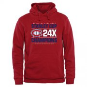 Wholesale Cheap Montreal Canadiens Rinkside Victor Pullover Hoodie Red