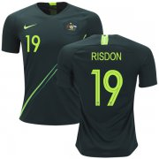 Wholesale Cheap Australia #19 Risdon Away Soccer Country Jersey