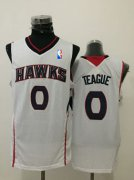 Wholesale Cheap Men's Atlanta Hawks #0 Jeff Teague White Swingman Jersey