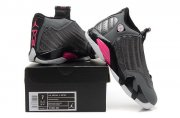 Wholesale Cheap WMNS Air Jordan 14 Shoes Gray/pink