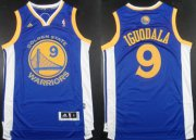 Wholesale Cheap Golden State Warriors #9 Andre Iguodala Revolution 30 Swingman Blue Jersey