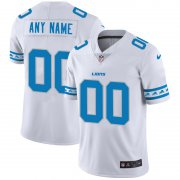 Wholesale Cheap Detroit Lions Custom Nike White Team Logo Vapor Limited NFL Jersey