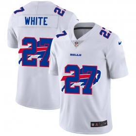 Wholesale Cheap Buffalo Bills #27 Tre\'Davious White White Men\'s Nike Team Logo Dual Overlap Limited NFL Jersey