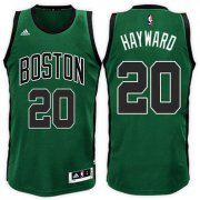Wholesale Cheap Boston Celtics #20 Gordon Hayward Road Green Black New Swingman Jersey