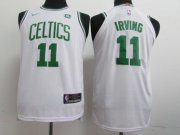 Cheap Nike Celtics #11 Kyrie Irving White Nike Stitched Youth NBA Jersey