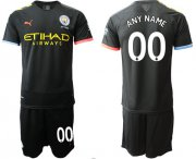 Wholesale Cheap Manchester City Personalized Black Soccer Club Jersey