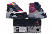 Wholesale Cheap Air Jordan 7Lab4 Shoes Black/Grey-blue-red
