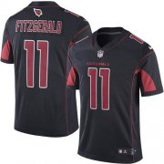 Wholesale Cheap Nike Cardinals #11 Larry Fitzgerald Black Men's Stitched NFL Limited Rush Jersey