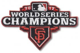 Wholesale Cheap Stitched 2012 San Francisco Giants MLB World Series Champions Jersey Sleeve Patch