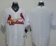 Wholesale Cheap Cardinals Blank White New Cool Base Stitched MLB Jersey