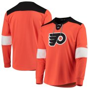 Wholesale Cheap Philadelphia Flyers adidas Platinum Long Sleeve Jersey T-Shirt Orange