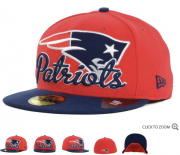 Wholesale Cheap New England Patriots fitted hats 09