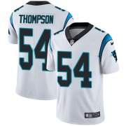 Wholesale Cheap Nike Panthers #54 Shaq Thompson White Youth Stitched NFL Vapor Untouchable Limited Jersey