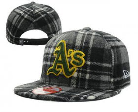 Wholesale Cheap MLB Oakland Athletics Snapback Ajustable Cap Hat 6