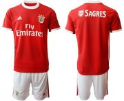 Wholesale Cheap Benfica Blank Home Soccer Club Jersey