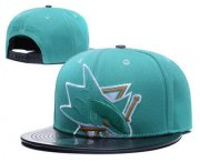 Wholesale Cheap San Jose Sharks Snapback Ajustable Cap Hat GS 3