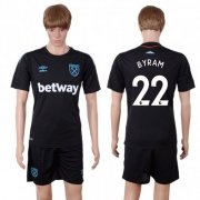 Wholesale Cheap West Ham United #22 Byram Away Soccer Club Jersey
