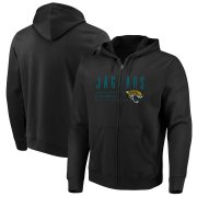 Wholesale Cheap Jacksonville Jaguars Majestic Hyper Stack Full-Zip Hoodie Black