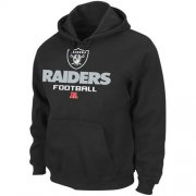 Wholesale Cheap Las Vegas Raiders Majestic Critical Victory Pullover Hoodie Black