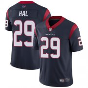 Wholesale Cheap Nike Texans #29 Andre Hal Navy Blue Team Color Youth Stitched NFL Vapor Untouchable Limited Jersey