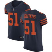 Wholesale Cheap Nike Bears #51 Dick Butkus Navy Blue Alternate Men's Stitched NFL Vapor Untouchable Elite Jersey