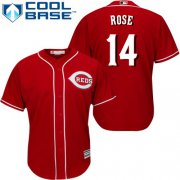 Wholesale Cheap Reds #14 Pete Rose Red Cool Base Stitched Youth MLB Jersey