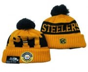 Wholesale Cheap Pittsburgh Steelers Beanies Hat YD 3