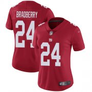 Wholesale Cheap Nike Giants #24 James Bradberry Red Women's Stitched NFL Limited Inverted Legend Jersey