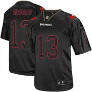 Wholesale Cheap Nike Buccaneers #13 Mike Evans Lights Out Black Men's Stitched NFL Elite Jersey