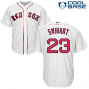 Wholesale Cheap Red Sox #23 Blake Swihart White Cool Base Stitched Youth MLB Jersey