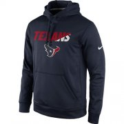 Wholesale Cheap Houston Texans Nike Kick Off Staff Performance Pullover Hoodie Navy
